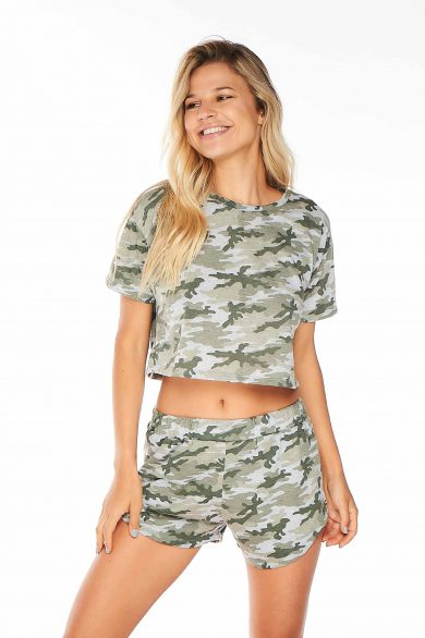 REMERA MC CORTA ESTAMPADO CAMMO